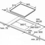 Bosch PKE645B17E_DIMENSIONS