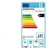 FWG81296WS energy label